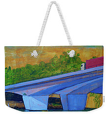 Brunswick River Bridge Weekender Tote Bag