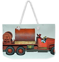 Brush Fire Truck Weekender Tote Bag