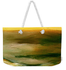 Brushed 4 - Vertical Sunset Weekender Tote Bag