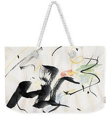 Brushstroke Scamper Weekender Tote Bag