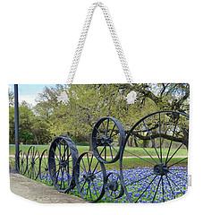Brushy Creek Bluebonnets Weekender Tote Bag