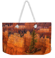 Bryce Canyon And Tree Weekender Tote Bag