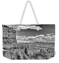 Bryce Canyon In Black And White Weekender Tote Bag