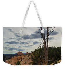 Weekender Tote Bag featuring the photograph Bryce Canyon Lone Tree by Kathleen Scanlan