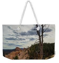 Bryce Canyon Lone Tree Weekender Tote Bag by Kathleen Scanlan