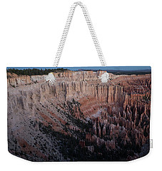 Weekender Tote Bag featuring the photograph Bryce Canyon Sunrise by Kathleen Scanlan