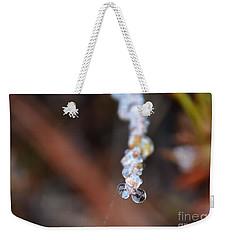 Bubble Eyed Water Drops- Loganville Georgia Weekender Tote Bag