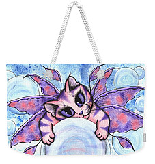 Bubble Fairy Kitten Weekender Tote Bag