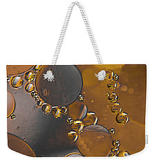 Bubble Motion Abstract Weekender Tote Bag