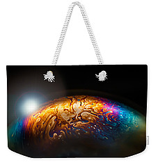 Bubble Planet I  Weekender Tote Bag by Maggie Terlecki