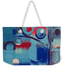 Bubble Tree - 85e-j4 Weekender Tote Bag by Variance Collections