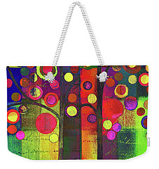 Bubble Tree Duo - 5501b Weekender Tote Bag