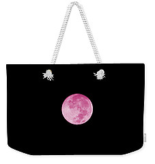 Bubblegum Moon Weekender Tote Bag