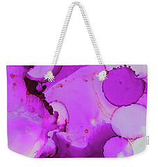 Bubblegum Weekender Tote Bag by Tracy Male