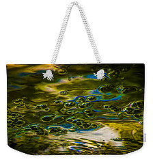 Bubbles And Reflections Weekender Tote Bag by Marvin Spates