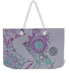 Bubbles Weekender Tote Bag by Marat Essex