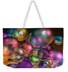 Bubbles Overall Weekender Tote Bag