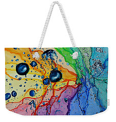 Bubbles Weekender Tote Bag by Raymond Perez
