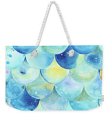 Bubbles Weekender Tote Bag by Stephanie Troxell