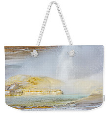 Weekender Tote Bag featuring the photograph Bubbling Earth by Colleen Coccia