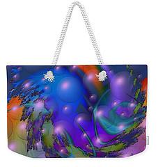 Bubbling Over With Enthusiasim Weekender Tote Bag by Kevin Caudill