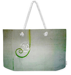 Weekender Tote Bag featuring the digital art Bubbling -  S24aabbcc by Variance Collections