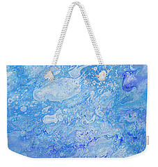 Bubbly Blues Weekender Tote Bag