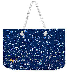 Weekender Tote Bag featuring the photograph Bubbly by Gene Garnace