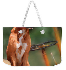 Buck Weekender Tote Bag by Colleen Taylor