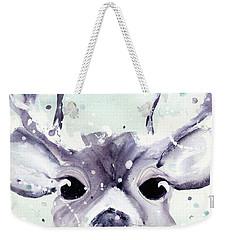 Weekender Tote Bag featuring the painting Buck by Dawn Derman