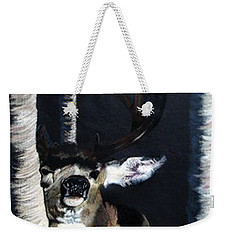 Buck Weekender Tote Bag by Mayhem Mediums