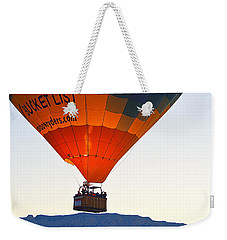 Weekender Tote Bag featuring the photograph Bucket List by AJ Schibig