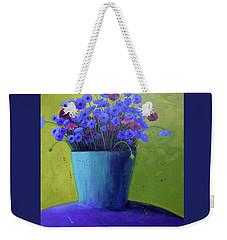 Bucket Of Blue Weekender Tote Bag