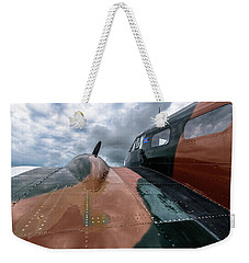 Bucket Of Bolts Weekender Tote Bag by Randy Scherkenbach