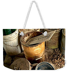 Buckets Of Rust And Dust Weekender Tote Bag