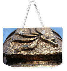 Weekender Tote Bag featuring the photograph Buckeye Collar by Robert Knight