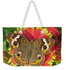 Buckeye On Blanketflower Weekender Tote Bag