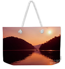 Weekender Tote Bag featuring the photograph Buckhorn Lake Sunset by Thomas R Fletcher