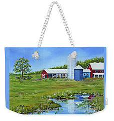 Bucks County Farm Weekender Tote Bag
