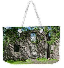 Bucks County Ruin - Bridgetown Mill House Weekender Tote Bag by Bill Cannon