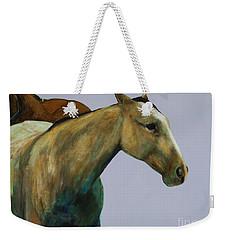 Buckskin Weekender Tote Bag by Frances Marino