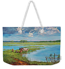 Bucolic St. John's Weekender Tote Bag by AnnaJo Vahle