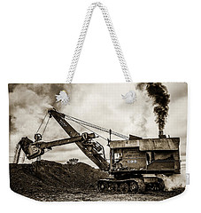 Bucyrus Erie Shovel Weekender Tote Bag