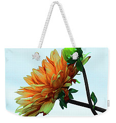 Bud And Blossom Weekender Tote Bag