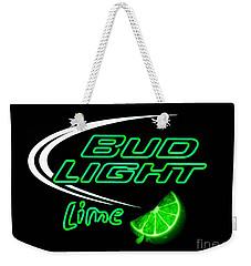 Bud Light Lime Edited Weekender Tote Bag