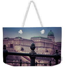 Budavari Palota - Budapest Weekender Tote Bag by David Warrington