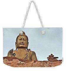 Buddha 1 Weekender Tote Bag