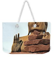 Buddha 2 Weekender Tote Bag