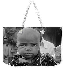 Buddha Baby, Mumbai India  Weekender Tote Bag