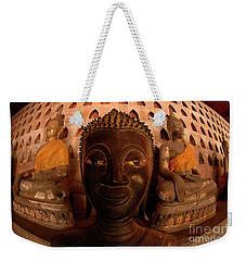 Buddha Laos 1 Weekender Tote Bag by Bob Christopher